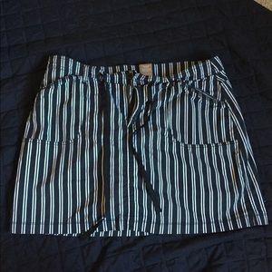 Cute Striped Skort